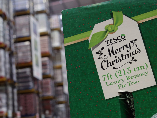 Tesco facing Christmas card forced labour claims