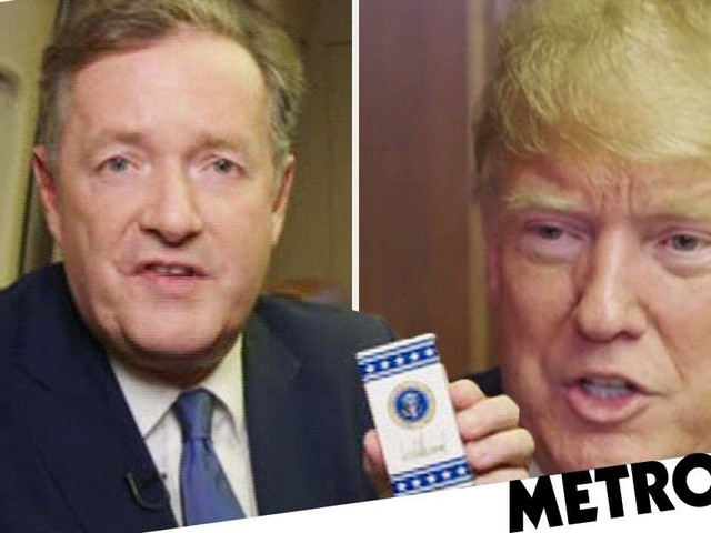 Piers Morgan reveals what life is like on Air Force One