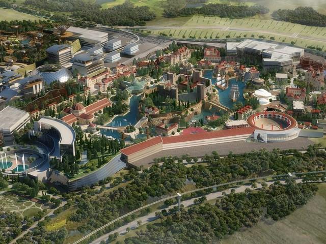 Spain is building a massive 'Disney-level' theme park and water park