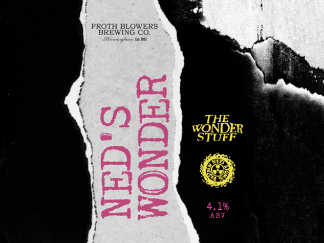 The Wonder Stuff and Ned's Atomic Dustbin release their own real ale: Ned's Wonder