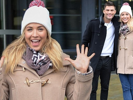 Strictly's Gemma Atkinson attends rehearsals in Manchester