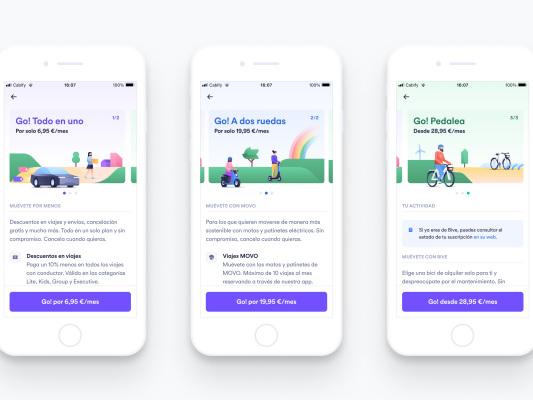 Cabify launches 'Cabify Go!', a multi-modal subscription service