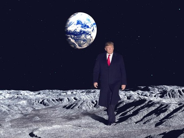 Trump Wants to Go to the Moon. Do Private Space Companies?