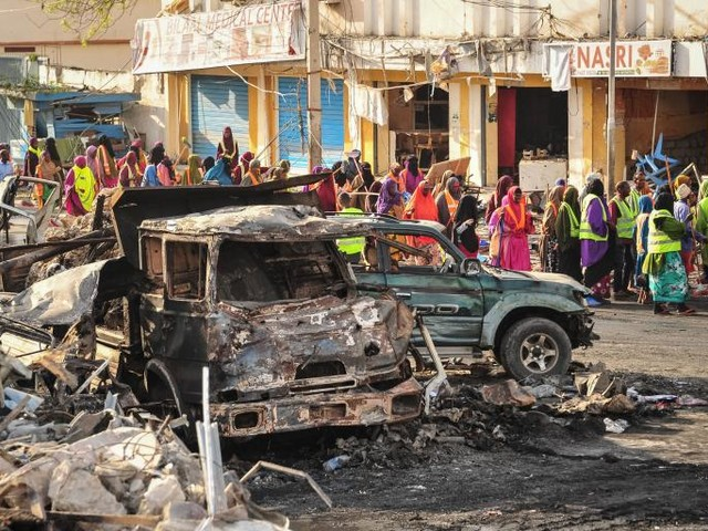 Massive Truck Bomb Kills at Least 189 in Somalia's Capital