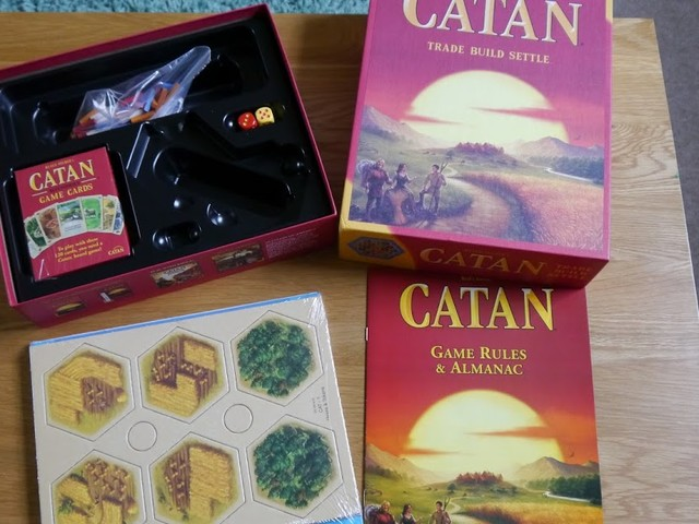 Review: Catan Board Game