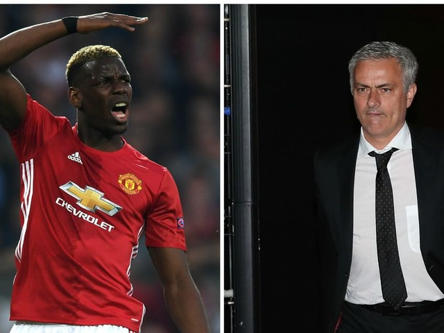 Manchester United manager Jose Mourinho claims Paul Pogba is unfairly criticised