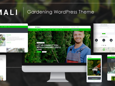 Landscaping - Gardening, Lawn & Landscape WP Theme (Business)