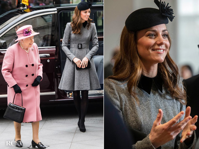 Catherine, Duchess of Cambridge In Catherine Walker – King's College London & The Foundling Museum
