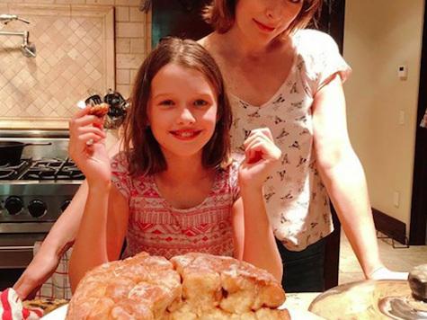 Milla Jovovich & Her Baking Buddy