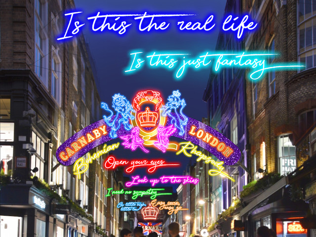 Queen's Brian May And Roger Taylor Switch On The Bohemian Rhapsody Lights This Weekend