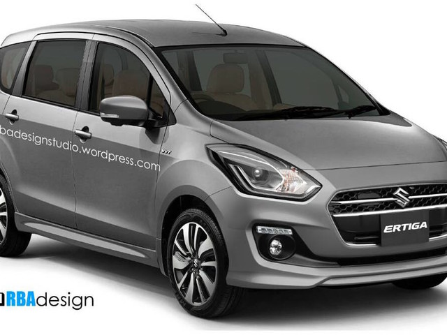 New Maruti Ertiga spied for the first time – Launch in 2018