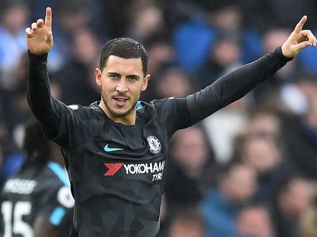 Eden Hazard surpasses Gianfranco Zola record with brace for Chelsea