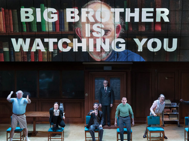 With '1984' on Broadway, Thoughtcrime Hits the Big Time