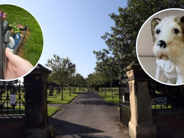 Callous thieves target baby and grandad's grave in Sunderland cemetery