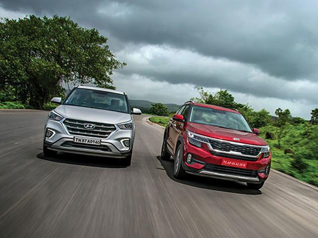 Review: Kia Seltos vs Hyundai Creta comparison