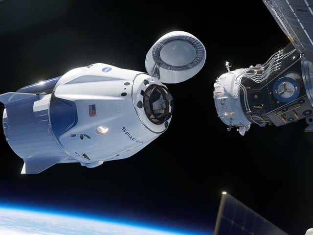 SpaceX's new 'Resilience' spaceship just autonomously docked to the International Space Station with 4 astronauts inside, kicking off a historic mission for NASA