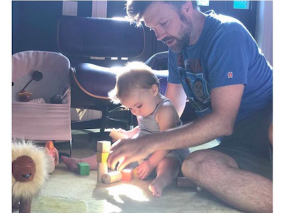 Jason Sudeikis Is A Doting Daddy