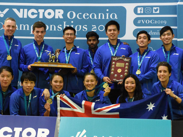 Australia beat New Zealand to retain Oceania Mixed Team Badminton Championships title