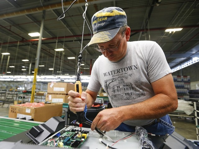 US factory activity posts unexpected rise at the end of 2019