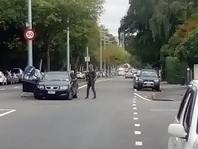 Police urge people to stop sharing that Christchurch shooter video online