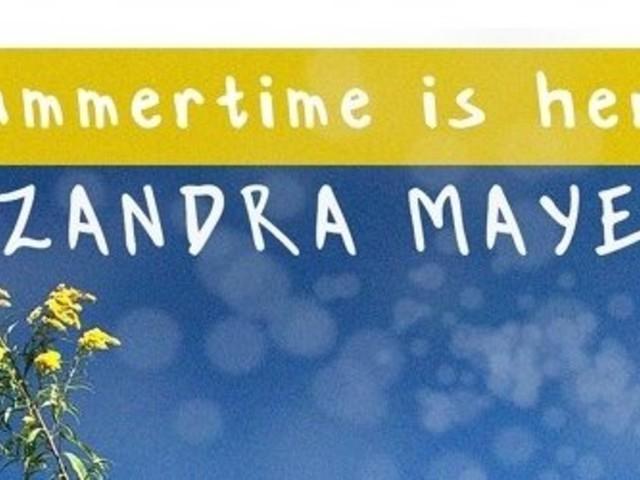"Szandra Mayer Radiates Warm Vibes on ""Summertime Is Here"""