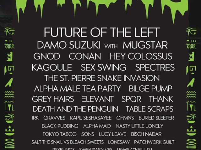 WRONG Festival Adds Gnod, Conan, Spectres And More!