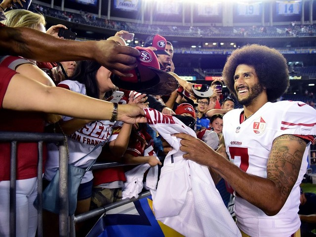 Colin Kaepernick says NFL owners colluded against him to deny him employment and files grievance
