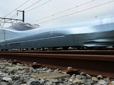 This Is the Alfa-X, the World's Fastest Bullet Train
