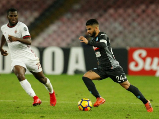 Insigne blows away World Cup blues in Milan win