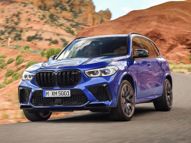 New BMW X5 M and X6 M gain 616bhp Competition variants