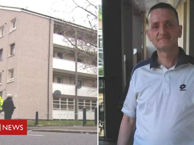 Two men charged with murder after Paisley flats death
