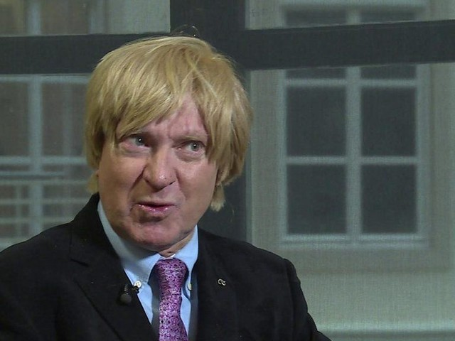 Tory MP Fabricant's nerves over TV blind date