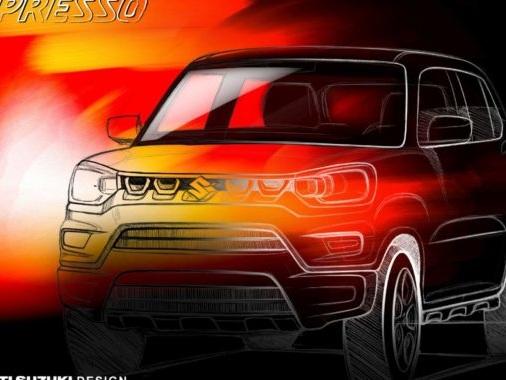 Maruti Suzuki S-Presso Mini SUV Official Sketch Revealed; Launch On September 30th