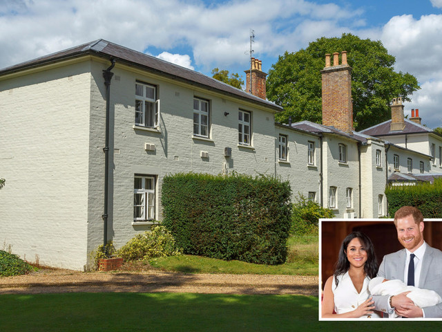 Meghan Markle and Prince Harry 'spend £750,000 of taxpayer cash on security at Frogmore Cottage on top of £3m refurb'
