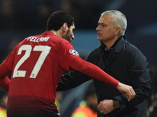 Jose Mourinho 'eyes reunion with Marouane Fellaini' at Tottenham