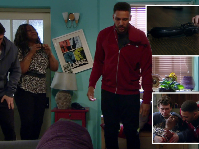 Emmerdale viewers baffled why no-one picks up the gun after Billy beats up Max – before gangster shoots Jessie