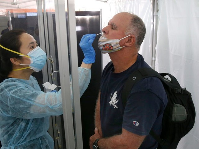 COVID-19 cases in the US near 50,000 a day - the highest since May as CDC reportedly considers stricter mask rules