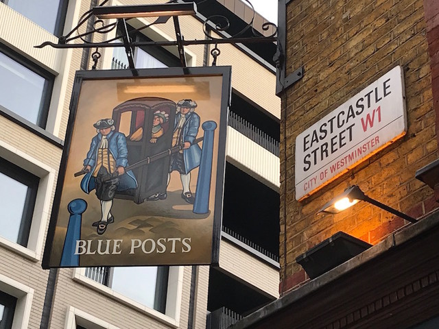Why Are There So Many Blue Posts Pubs?