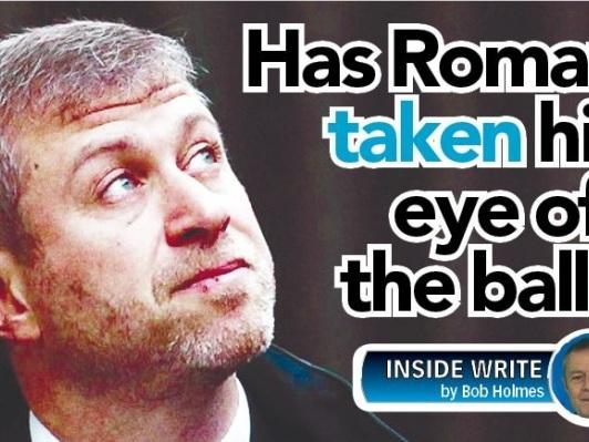 Has Roman taken his eye off the ball?