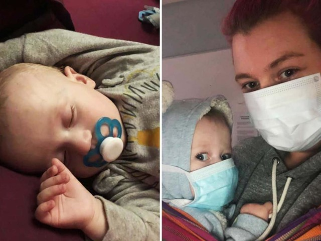 Mum vows to 'knock the blocks off' Brits not obeying lockdown after her baby on chemo is hospitalised with coronavirus