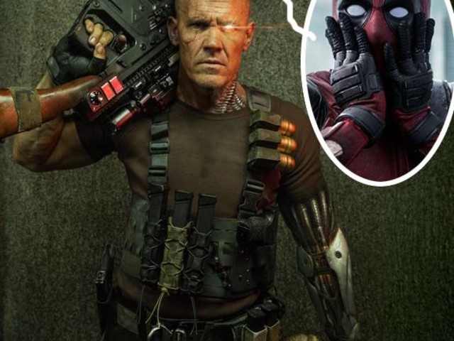 Fans Lose Their Shit As Ryan Reynolds Shares The First Pic Of Josh Brolin As Cable From Deadpool 2!