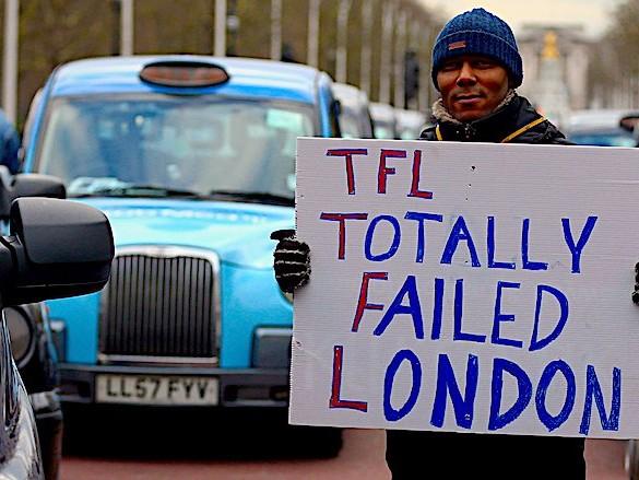 In the long run, Uber will cut 40,000 jobs in London