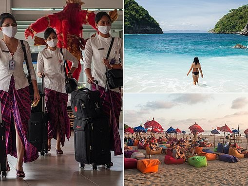 Australians could travel to Bali from NEXT MONTH as Indonesian officials push for travel bubble