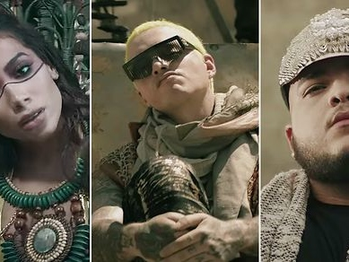 J Balvin Expands Reggaeton's Scope With Anitta and Jeon on 'Machika': Watch How