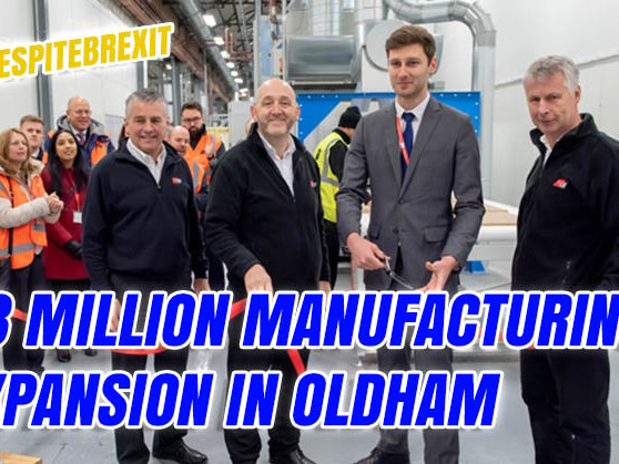 New £3 Million Manufacturing Expansion in Oldham