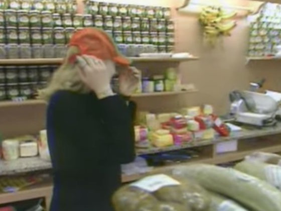 She Was Standing In The Grocery Store When She Saw Something That Made Her Shudder