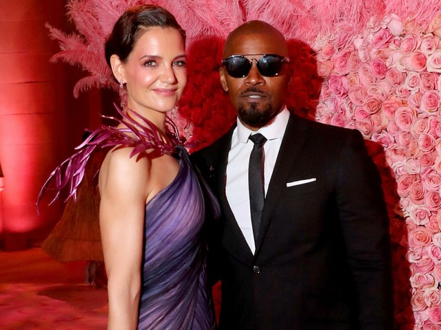 Katie Holmes and Jamie Foxx attended the Met Gala together, appearing to confirm their relationship after years of speculation