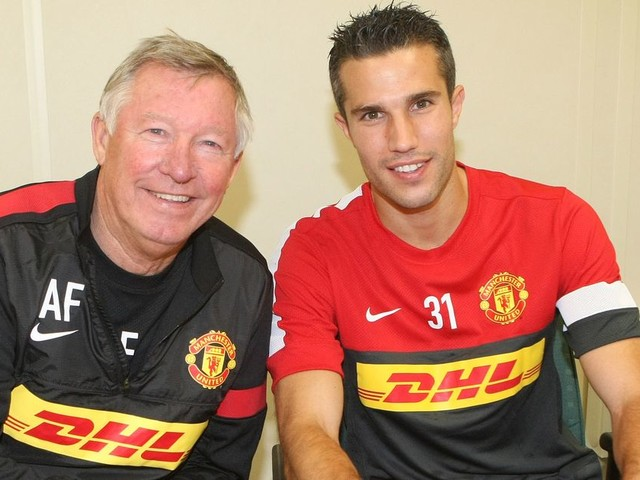 What Ferguson told Van Persie before retiring at Man United