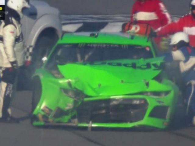 Another big Dayton 500 crash ends Danica Patrick's NASCAR career