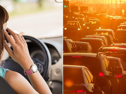 Common driving habits that cause more crashes than using mobile phones behind the wheel